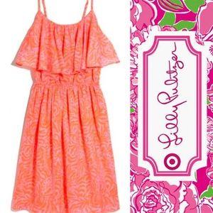 "Lilly Pulitzer Target ""Giraffeeey"" Dress, Large"